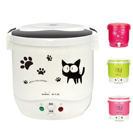 Wholesale Heat Lunch Box - Mini Rice Cooker 12V 24VFor Car Truck House Electric Rice Cooker Can Be Used as Lunch Box Suit 1-2 People