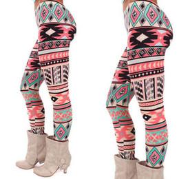 Wholesale Plus Size Winter Print Leggings - Wholesale- Fashion Leggings 2016 Print Milk Plus Size Supernova Sale Autumn Winter Cotton Legging For women plus size