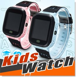 Wholesale Blood Tracker - 2016 GPS Tracker WatchAnti-lost Children Kids Smart watch LBS Tracker Wrist Watchs SOS Call For Android IOS
