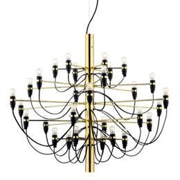 Wholesale Gino Sarfatti Chandelier - 2097 Chandelier Gino Sarfatti 18  30  50 Heads Pendant Lamp Lights Lighting Fixtures