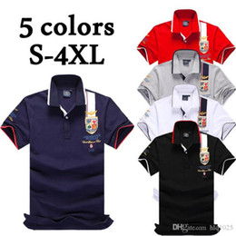 Wholesale Polo Shirts Wholesale For Men - Brand POLO Militare Shirt Men Tops Short Casual Air Force One New Male Polo Shirt for man