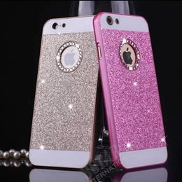 Wholesale Hard Case For Sale - Tallastika Hot Sale Luxury Diamond bling case for iPhone 6 6S 5 5S SE wonderful colors hard plastic back cover phone case for iphone6