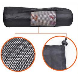 cinghia centrale Sconti Tracolla regolabile per il centro della maglia della sacca da trasporto della stuoia della stuoia di yoga di Pilates del portatile-All'ingrosso-Portatile