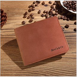 Wholesale Wholesale Designer Clutches - New Arrival Leather Wallets Mens Boys Brand Designer Bifold Money Purse Mixed Wholesale Vintage Clutch Cente Wallet Credit Card Holder