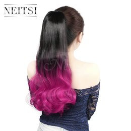 Where to find best synthetic weave hair online best jerry curl hot sale 22inch synthetic straight long ponytail rose feather hair highlight extensions straight hair weaves synthetic hair ponytails in bulk pmusecretfo Choice Image