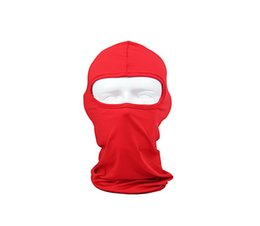 Wholesale 5pcs new Balaclava Ski Mask Multipurpose Face Mask Windproof Versatile Sports Casual Full Face Motorcycle Mask for Riding Skiing Snowboard
