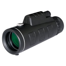 Wholesale Handheld Compass - MOQ;30PCS Day and Night Vision HD 40x60 Handheld Optical Monocular Outdoor Camping Hunting Telescope Zoom With Compass Tripod Phone Clip