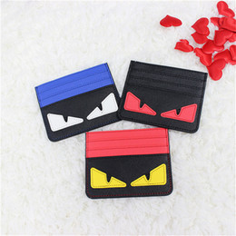 Wholesale Red Eye Mini - Wholesale- Mini Monster Eyes Women Wallets With Card Holder Fashion Womens Wallet And Purse Small Short Cartoon Purses Dollar Price