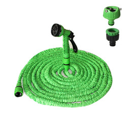 Wholesale Water Pressure Hose - 150FT 45M Car Pressure Washer Flexible Expandable Magic Garden Hose Car Washer Water Tool Car Accessories