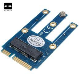 Wholesale Wifi Card Mini Pci - Mini PCI-E to NGFF Adapter For M.2 Wifi Bluetooth Wireless Card Portable PCI Adapter Support For Laptop Electric Board Module