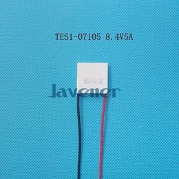 Wholesale Peltier Thermoelectric Cooling - Wholesale- TES1-07105 Heatsink Thermoelectric Cooler Peltier Cooling Plate 23x23mm 8.4V 5A Refrigeration Module