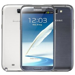 Wholesale Galaxy Note Ii Phone - 100% Original Galaxy Samsung Note II 2 N7100 Refurbished Note2 Quad Core 2GB RAM 16GB ROM 8MP Smartphone 3G Mobile Phone