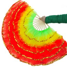 Wholesale Nice Performance - Nice Belly Dance Fans For Ladies Good Quality Performance Fans for Party Wedding Wholesale