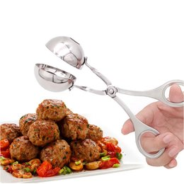 Wholesale Fishing Stuff - Convenient Meatball Maker Stainless Steel Stuffed Meatball Clip DIY Fish Meat Rice Ball Maker