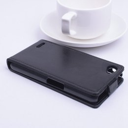 Wholesale Phone Philips - Fashion Flip PU Leather Case For Philips Xenium W6610 W6618 Cover Vertical Magnetic Phone Bag 9 colors