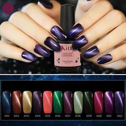 Wholesale Nail Art 48 Colors - Fashion Cat Eye Gelish Nail Gel Polish Nail Art 48 Colors Long Lasting Good Quality