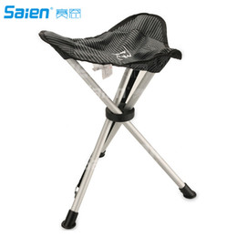 Wholesale Bear Stool - Camping chair fishing chair Portable Folding Camping Stool Chair Max load bearing 102 kg