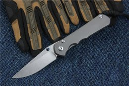 Wholesale Frames Papers - 2017 High End CR Sebenza 25 Titanium Handle S35VN steel blade Fold Knife EDC Pocket Knives With Original Paper Box Package Frame Lock