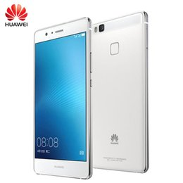 Wholesale G9 Gps - Original Huawei G9 Lite VNS-TL00 4G LTE Mobile Phone Snapdragon 617 Octa Core 3GB RAM 16GB ROM 5.2 inch Fingerprint ID 13.0MP Smart Phone