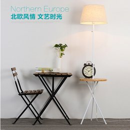 Wholesale Floor Reading Lamps - Study living room bedroom led eye protection floor lamp simple modern creative reading lighting lamp piano vertical floor lamps table lights