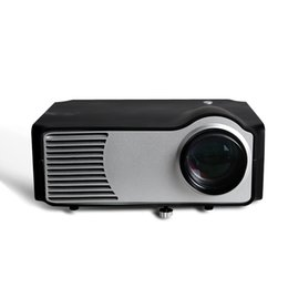 Wholesale Home Theater Cheapest - Wholesale-Factory Sale Cheapest Home theater cinema 2200Lumen mini proyector HDMI LEDLCD HD Video 3D Projector prokector