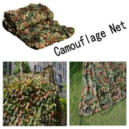 Wholesale Military Tents Camo - Hunting Camping Military Camouflage Net Desert Woodland Blinds Camo Netting Mesh Birdwatching Jungle Camouflage Netting B112L