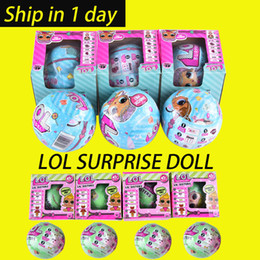 Wholesale Herve Lerger Dress - LOL SURPRISE DOLL Series 2 Dress Up Toys baby Tear change egg can spray Realistic Baby Dolls lil sisters 45+ to Collect OTH646