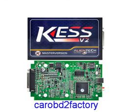Wholesale Kess Programmer - DHL Free Shipping KESS V2 Master V2.30 Newest OBD2 Manager Tuning Kit No Token Limit Kess V2 Master FW V4.036 Master Version