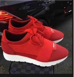Wholesale Italian Mesh - Italian Brand Free Shipping 2017 Luxury Brand Mixed Color Neutral Casual Shoes Flat Comfortable Patchwork Leather Women's Men's Sports Shoes