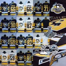 Wholesale Red Mario - 2018 Pittsburgh Penguins Jersey 100th 2017 Champions Patch Sidney Crosby Mario Lemieux Matt Murry Evgeni Malkin Phil Kessel Jake Guentzel