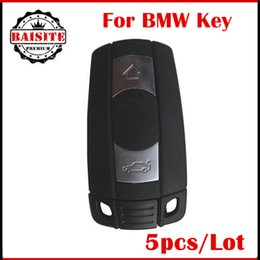 Wholesale Key Programmer For Remotes - 5pcs lot BMW Remote Key for BMW 1 3 5 6 Series remote Key E90 E91 E92 E60 for bmw CAR KEY high quality