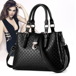 Wholesale Blue Contracting - MU LANG The new European and American women handbag fashion contracted single shoulder bag Mature charm