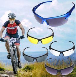 Gafas de ciclismo nocturno online-Hombres Ciclismo Gafas de sol Gafas de visión nocturna Gafas de sol Deportes al aire libre Gafas de sol Moda Gafas de sol KKA1980