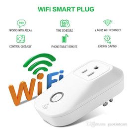 Wholesale Intelligent Internet - WIFI Socket Best Wireless Internet APP Remote control Home Automation Intelligent Power Socket for Smart Home