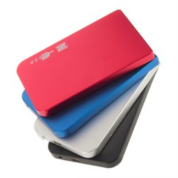 Wholesale Laptop Hard Drive Enclosure - Wholesale- USB 2.0 HDD Hard Drive 2.5 Inch SATA box 2TB External Enclosure Mobile Disk Box Cases for laptop hard drivec Hard Disk