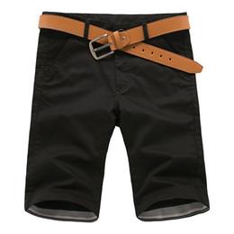Wholesale Korean Fashion Hot Pants - Wholesale-Hot Sale New Summer Style fashion Casual Korean zipper Slim keen length Pure cotton Solid color Big pocket Casual five pants