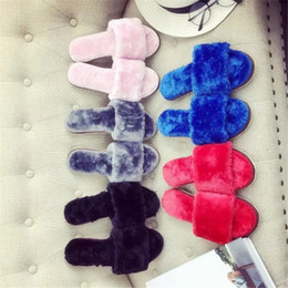 Wholesale Nice Flip - Wholesale-2016 Autumn Winter Women Comfortable Slippers Indoor Shoes Women Slipper Home Shoes Flat Heel Candy Color Slippers Nice!!!