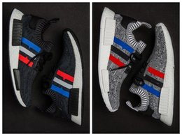 Wholesale Cheap Shoes Boots For Men - So Cheap Men NMD Running Shoes,Newest Color,Size 40-44 Men Nmd R1 Running Shoes For Men Top Boots,Sports Shoes nmd xr1