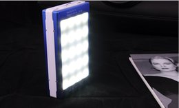 Wholesale Real Banks - Solar Power bank Real 15000mah Double USB Portable Solar Charger PowerBank for xiaomi smartphone