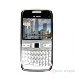 "Wholesale Phone E72 - Original Refurbished Nokia E72 Mobile Phone 2.4"" 5.0MP Camera 3G Wifi QWERTY Arabic Keyboard Renew Cellphone Free Shipping"