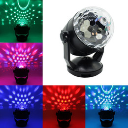 Wholesale Disco Light Battery - Mini RGB LED Laser Pointer Disco Stage Light Voice Control USB or Battery Operated Laser Projector Party Bar Pattern Lighting