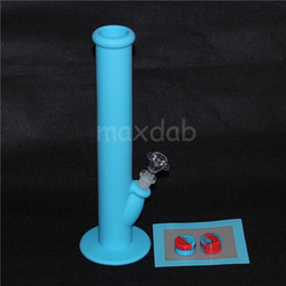 Wholesale M Container - Silicone Oil Wax Dab Kit with 5.51*4.52 inch Mat Pad silicone bong and 2 pcs 5ml silicone wax containers free shipping
