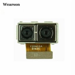 Wholesale Number Tests - For Huawei Mate9 Mate 9 MHA-AL00 MHA-AL10 Back Camera Module Tested Mate9 Camera Free Shipping With Tracking Number
