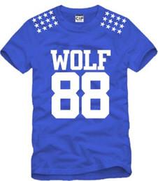 Wholesale Exo Kris - free shipping sale fashion EXO T-shirt Wolf 88 Tshirt five star printed Childrens Tshirts KPOP LUHAN KRIS exo Kids tshirts 100% cotton