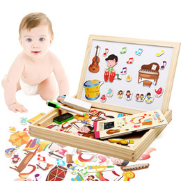 Wholesale Wholesale Boxing Equipment - Original Muwanzi Puzzle Jigsaw Music Equipment Cognitive Puzzles Children Educational Wooden Toys for Kids with Retail Box 2107359