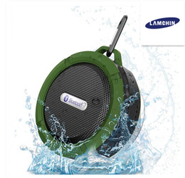 Wholesale Wireless Speakers Mic - Waterproof Wireless Bluetooth Speakers Shower Speaker with 5W Strong Driver Long Battery Life and Mic and Removable Suction Cup