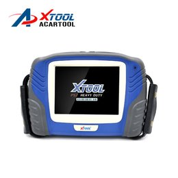 Wholesale Professional PS2 Heavy duty truck diagnostic tool XTOOL PS2 Truck scanner Original ps2 truck professional Update online