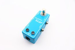 Wholesale Pedal Switcher - OEM Hot-selling Super Mini Loops ABXY Switch Box Looper Switcher Guitar Effect Pedal Musical Instruments Free Shipping
