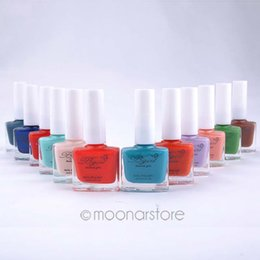 Wholesale Nude Girl Paintings - Wholesale- Free Shipping NEW Matte Polish Nail Varnish Lacquer Paint Nail Art for Lady Girl 12ML zMPJ484I