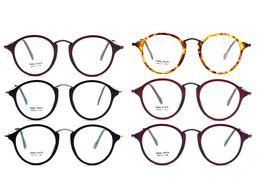 Wholesale Classic Metal Works - New Style TR and Metal Material Plain Eyeglass Frame Designer Fashion Reading Glasses Unisex Eyeglasses Frames